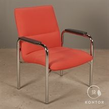Kusch+Co Model 6690. Orange læder. Bæreevne: 300 kg.