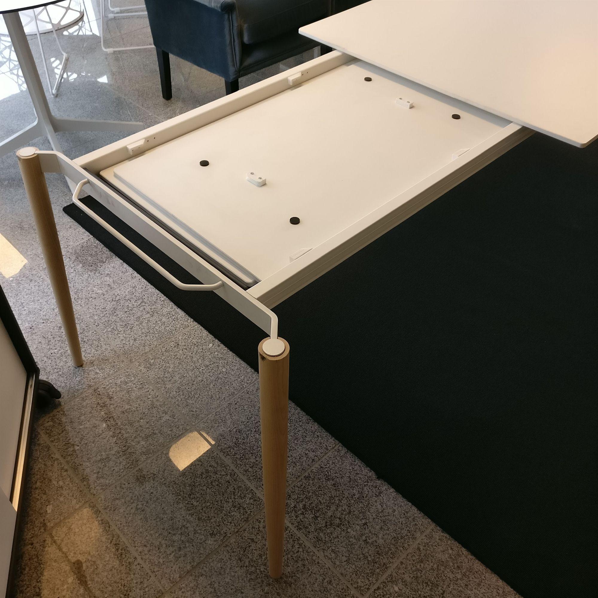 Sort Spisebord Med Udtrk. Finest Diagonal Spisebord Sort With Sort ...